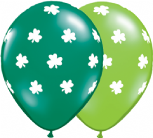 Big Shamrocks - 11 Inch St Patricks Day Balloons 25pcs